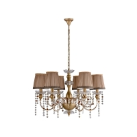 Люстра Crystal Lux ALEGRIA SP6 GOLD-BROWN
