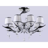 Люстра Crystal Lux FLAMINGO SP-PL8 CHROME