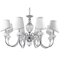 Люстра Crystal Lux ALMA WHITE SP-PL8