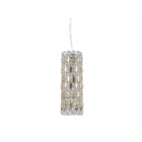 Подвесной светильник Crystal Lux LIRICA SP3 CHROME/GOLD-TRANSPARENT