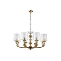 Люстра Crystal Lux GRACIA SP8 GOLD
