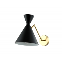 Бра Crystal Lux JOVEN AP1 GOLD/BLACK