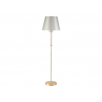Торшер Crystal Lux NICOLAS PT1 GOLD/WHITE