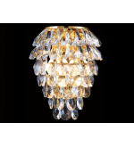 Бра Crystal Lux  CHARME AP2+2 LED Gold Transparent