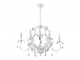 Люстра Crystal Lux CRISTINA SP6 WHITE