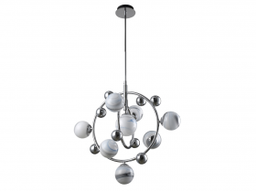 Люстра Crystal Lux SALVADORE SP8V CHROME