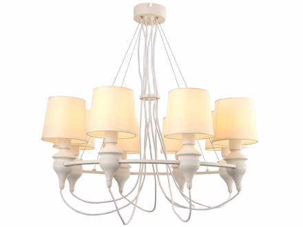 Люстра ARTE LAMP A3326LM-8WH